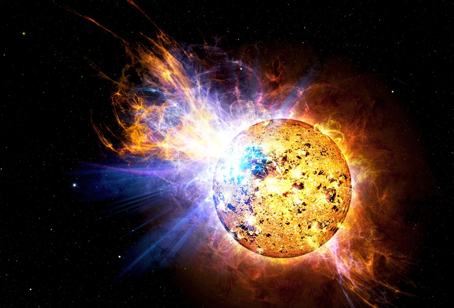 nasa, Red Dwarf Flare Full