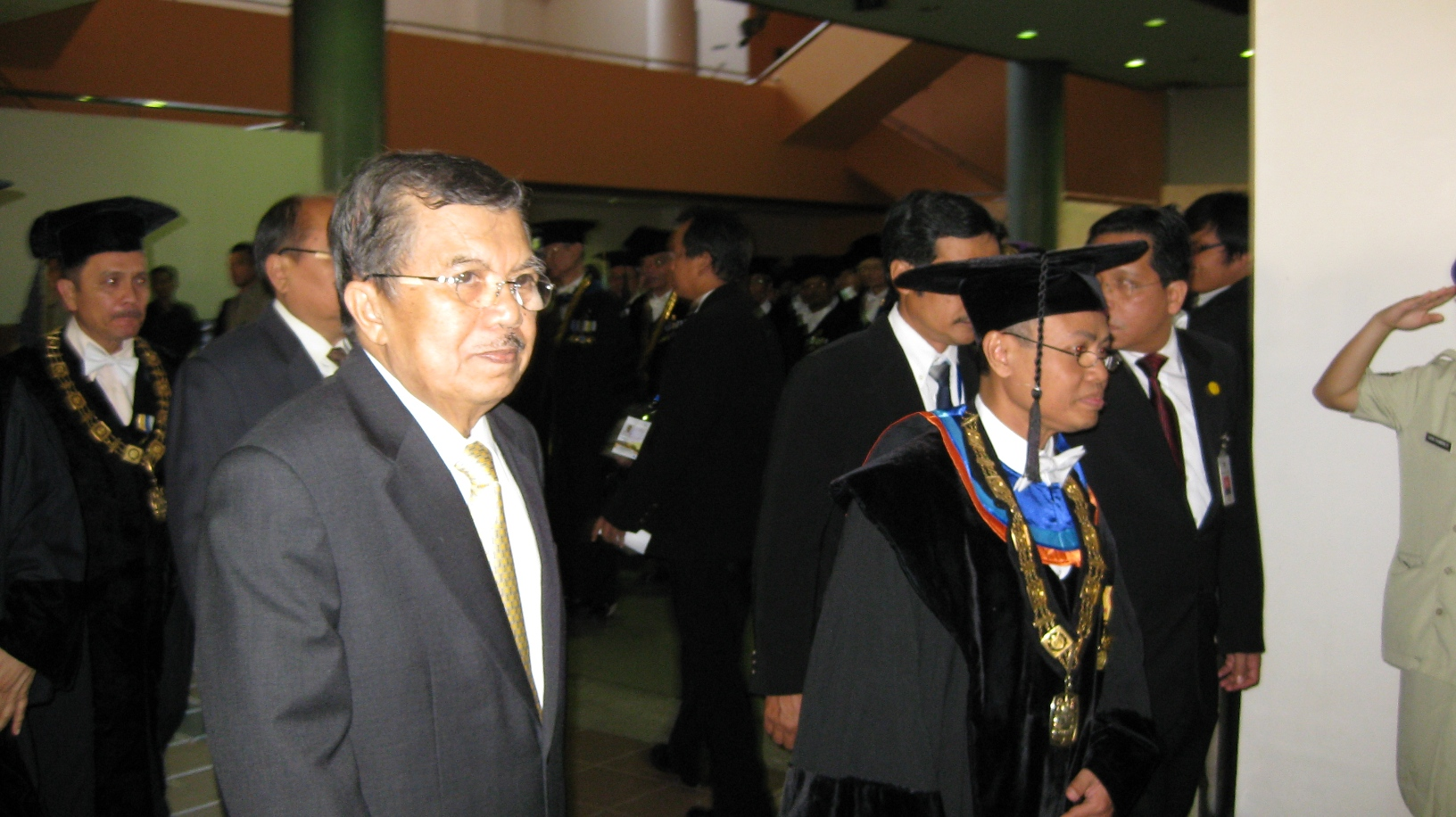 Jusuf KAlla dan Rektor ITB