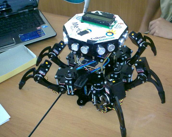 The power of dreams robot cerdas pemadam api institut