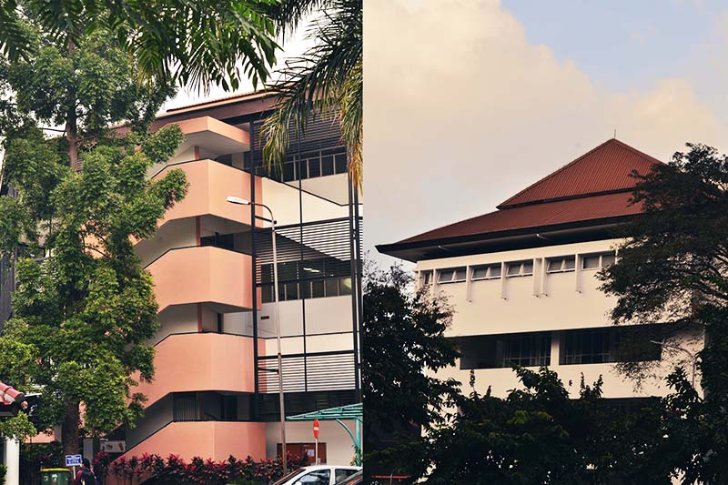 West Lecture Hall & East Lecture Hall
